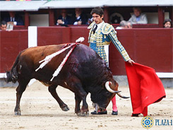 Castella corta la única oreja en Madrid