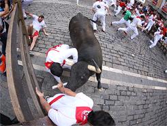 Los de Jandilla siembran peligro en Pamplona