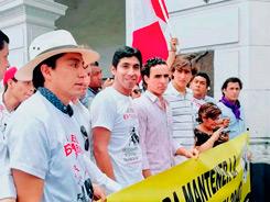 Realizan en Lima marcha por la libertad