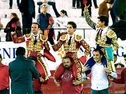 Triunfal arranque de la Feria de León