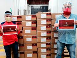 Roca Rey dona material sanitario en Iquitos